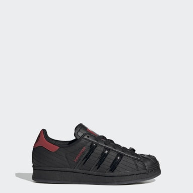 Chaussure Superstar Star Wars Darth Vader noir Adolescents Originals