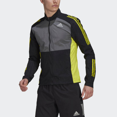 Men's Running Black Track Jacket