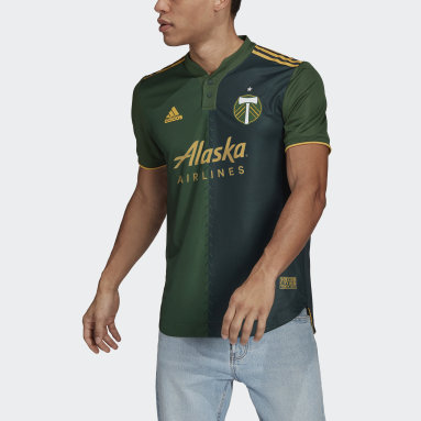 Men's Soccer Green Portland Timbers 21/22 Home Authentic Jersey