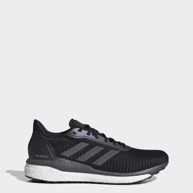 Men Running Black Solar Drive 19 Shoes