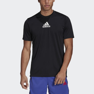 Men Training Black Primeblue Designed To Move Sport 3-Stripes Tee