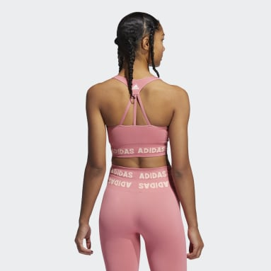 Women Studio Pink Training Aeroknit Bra