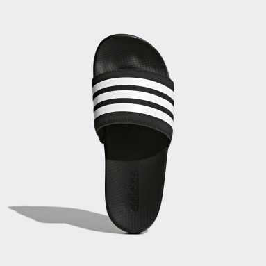 Women Essentials Black Adilette Comfort Slides