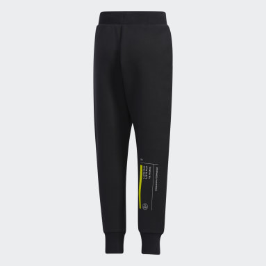 Boys Training Black Training Essentials Spacer Pants