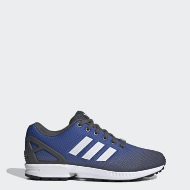 Women Originals Grey ZX Flux Shoes