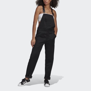 Women Originals Black R.Y.V. Dungarees