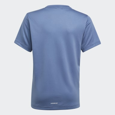 Youth 8-16 Years Gym & Training Blue AEROREADY T-Shirt