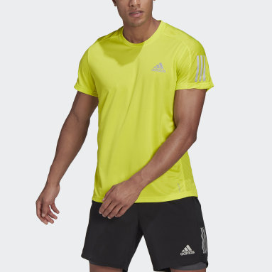 Polera Own the Run Amarillo Hombre Running