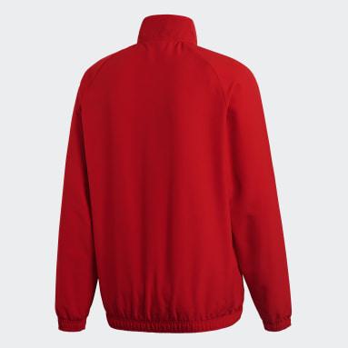 Men Gym & Training Red Core 18 Presentation Jacket