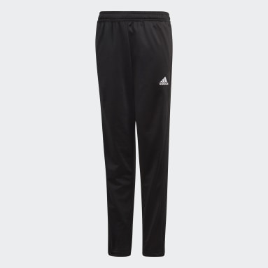 Youth 8-16 Years Gym & Training Black Condivo 18 Tracksuit Bottoms