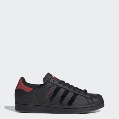 TENIS Superstar Star Wars Darth Vader Negro Hombre Originals