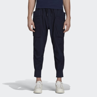 Men Y-3 Blue Y-3 Classic Light Ripstop Utility Pants