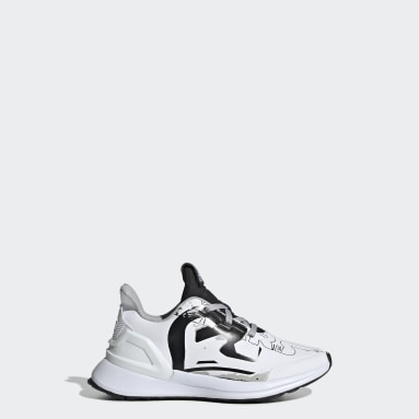 Kids Running White RapidaRun Star Wars Shoes