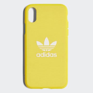 Funda iPhone X Adicolor Snap Amarillo Originals