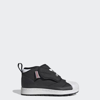 черный Ботинки Superstar 360