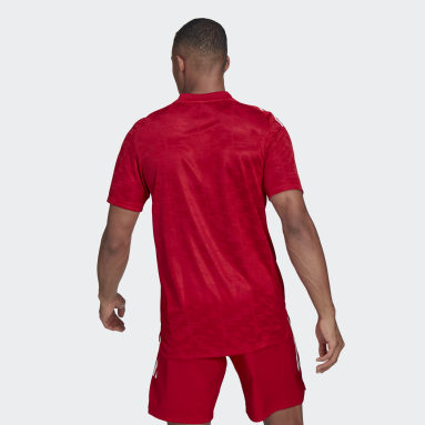 Maillot Condivo 21 Primeblue Rouge Hommes Football