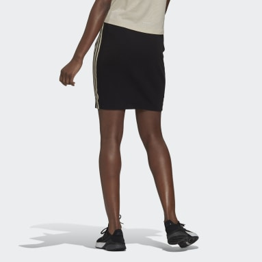 Women's Essentials Black adidas x Zoe Saldana AEROREADY Skirt