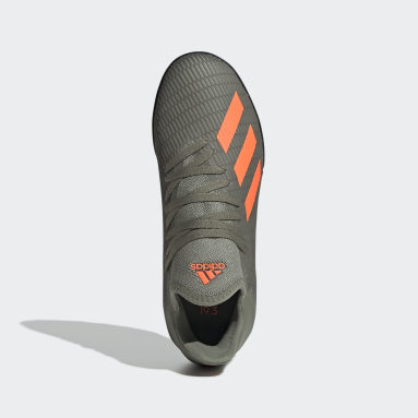 Calzado de Fútbol X 19.3 Césped Artificial (UNISEX) Verde Niño Fútbol