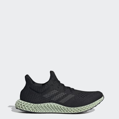 Running Black adidas Futurecraft 4D Shoes