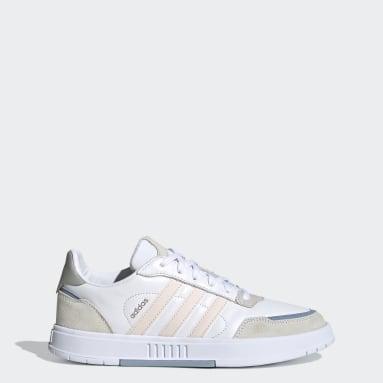 Kvinder Walking Hvid Courtmaster sko