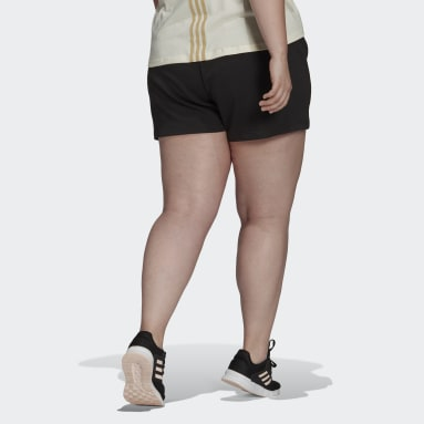 Women's Essentials Black adidas x Zoe Saldana AEROREADY Shorts (Plus Size)