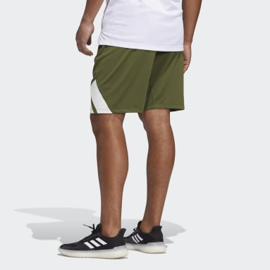 Men Running Green 4KRFT Shorts