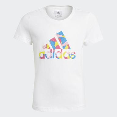 T-shirt adidas x Classic LEGO® Graphic Blanc Filles Fitness Et Training