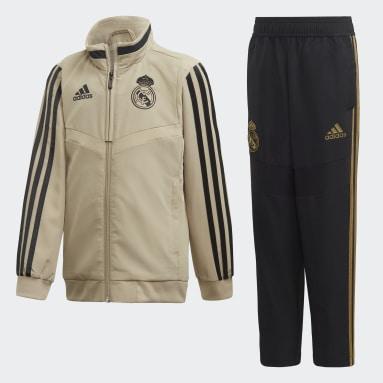 Survêtement de présentation Real Madrid Rouge Enfants Football