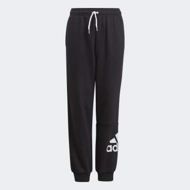Youth 8-16 Years Sportswear Black Essentials French Terry Joggers