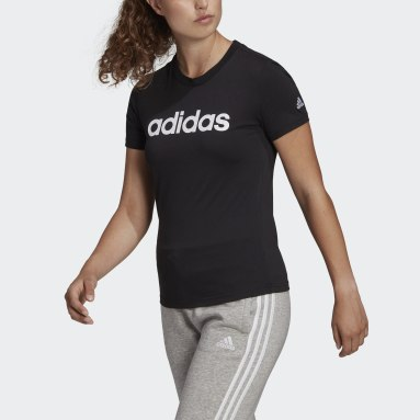 Women Sport Inspired LOUNGEWEAR Essentials Slim Logo Tee