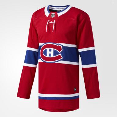 Maillot Canadiens Domicile Authentique Pro rouge Hockey