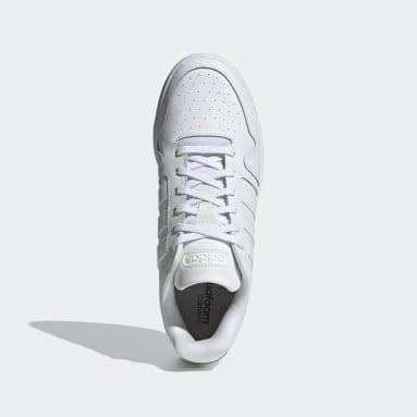 Basketball White Postmove Shoes