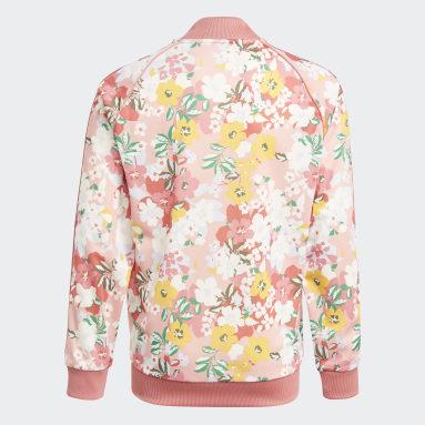 Chamarra SST HER Studio London Floral Rosa Niña Originals