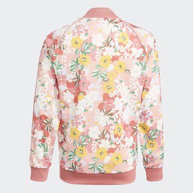 Youth Originals Pink HER Studio London Floral SST Jacket