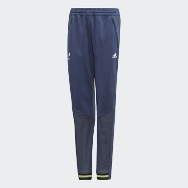 Youth 8-16 Years Gym & Training Blue Messi Tiro Tracksuit Bottoms