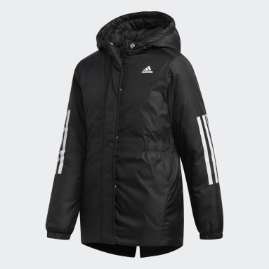 Children Training Black Insulated Jacket