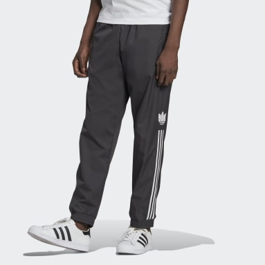 Men Originals Black Adicolor 3D Trefoil 3-Stripes Track Pants