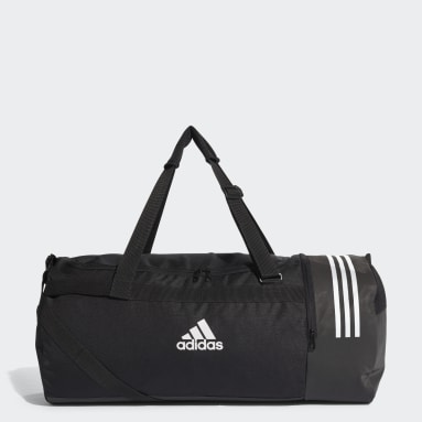 Sac en toile Convertible 3-Stripes Grand format Noir Hockey Sur Gazon