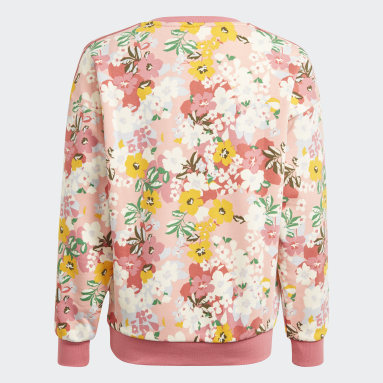 Youth Originals Pink HER Studio London Floral Crew Sweatshirt