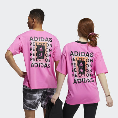 Training Pink adidas x Peloton Tee (Gender Neutral)