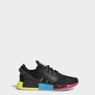Youth Originals Black NMD_R1 V2 Tokyo Nights Shoes