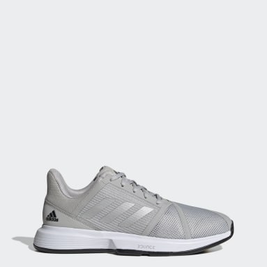 Chaussure CourtJam Bounce Gris Hommes Tennis