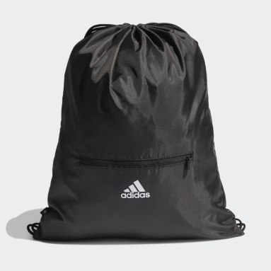 Tennis Zwart Essentials 3-Stripes Gym Tas