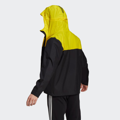 Herr City Outdoor Svart BSC 3-Stripes RAIN.RDY Jacket