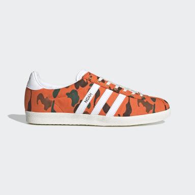 Men Originals Orange Gazelle OG Shoes