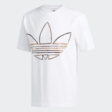 Camiseta Acuarela Blanco Hombre Originals