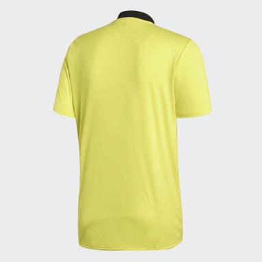 Football Yellow Referee Jersey