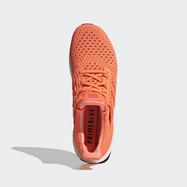 Men's Running Orange Ultraboost Clima DNA Shoes