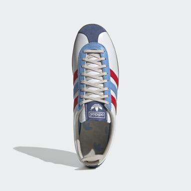 Heren Originals Wit Gazelle Vintage Schoenen