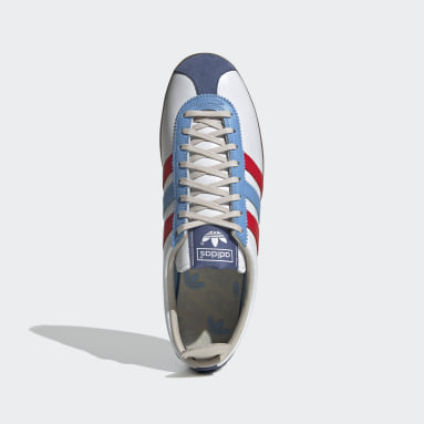 Men Originals White Gazelle Vintage Shoes
